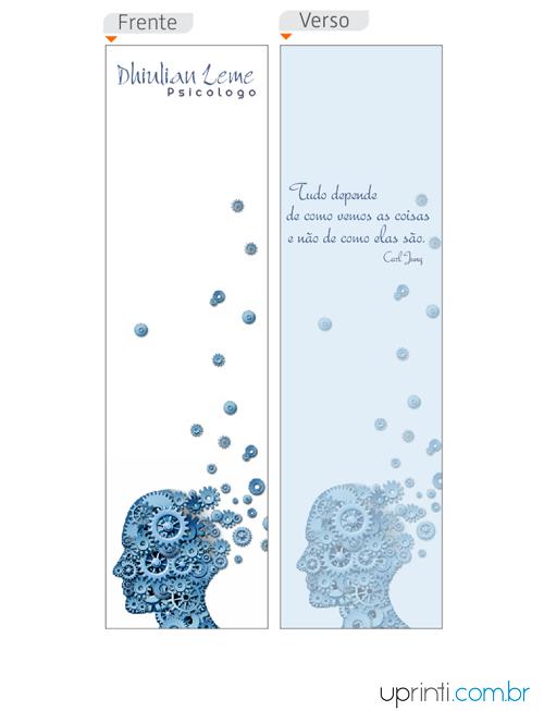 Marca Paginas Para Psicologos M12824 Uprinti