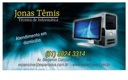 Cartões De Visita Para Informática M9740 Uprinti